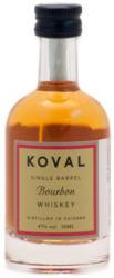 KOVAL Bourbon Whiskey 0,05L 47%