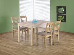 HALMAR Maurycy bővíthető, fa étkezőasztal