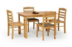 HALMAR Calvin fa étkezőasztal