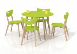 HALMAR Peppita kerek étkezőasztal