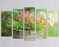 Wall Sensne Декоративен панел за стена Пролетни цветя