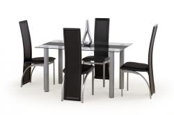 HALMAR Talon üveg étkezőasztal