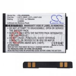 Utángyártott LG Li-Ion 780 mAh LGIP-830