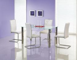 HALMAR Zeus üveg étkezőasztal