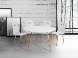Beliani Bovio kerek étkezőasztal 120cm