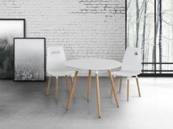 Beliani Bovio kerek étkezőasztal 90cm
