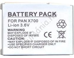 Utángyártott Panasonic LI-Ion 430 mAh EB-BSX700