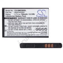 Utángyártott Samsung LI-Ion 700 mAh AB403450B