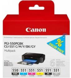 Canon PGI-550PGBK+ CLI-551 MultiPack 6496B005