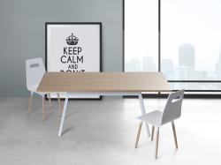 Beliani Flow étkezőasztal 180cm