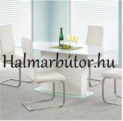 HALMAR Jupiter üveg étkezőasztal