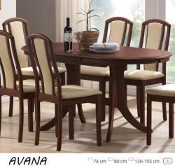 Avana bővíthető étkezőasztal 120/155cm