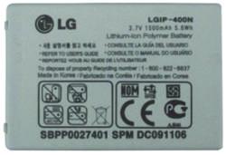 LG Li-Polymer 1500mAh LGIP-400N