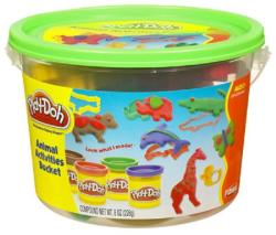 Hasbro Play-Doh - Állatos vödrös gyurmakészlet