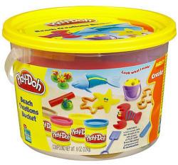 Hasbro Play-Doh - Strand vödrös gyurmakészlet