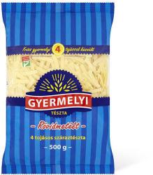 GYERMELYI Rövidmetélt száraztészta 500g - 4 tojásos