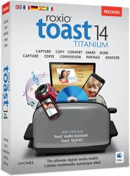 Corel Toast 14 Titanium RTOT14MLMBEU