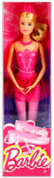 Mattel Barbie - Szőke balerina baba rózsaszín ruhában (DHM42)