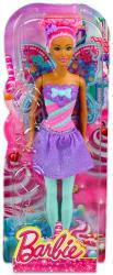 Mattel Barbie - Tündér babák - Cukorka divatbaba (lila) (DHM51)