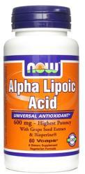 NOW Alpha Lipoic Acid (600mg) kapszula - 60 db