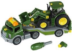 Klein Trailer cu tractor John Deere (TK3908)