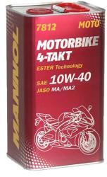 MANNOL 7812 Motorbike 4-takt 10W-40 (4L)