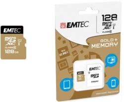 EMTEC microSDXC Gold 128GB Class 10 ECMSDM128GXC10GP