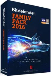 Bitdefender Family Pack 2016 (5 PC, 3 Year) UL11153000