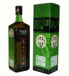 PASSPORT SCOTCH Fradi Edition Whiskey 0,7L 40%