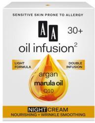 AA Oil Infusion2 30+ intenzív tápláló, bőrkisimító éjszakai arckrém 50ml