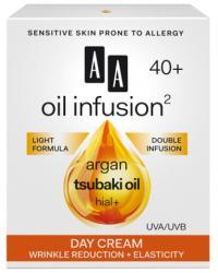 AA Oil Infusion2 40+ ránctalanító, rugalmasságot növelő nappali arckrém UVA/UVB 50ml