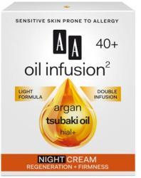 AA Oil Infusion2 40+ regeneráló, feszesítő éjszakai arckrém 50ml