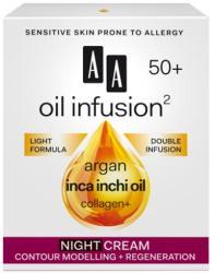 AA Oil Infusion2 50+ arckontúrt javító, regeneráló éjszakai arckrém 50ml