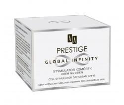 AA Prestige Global Infinity sejtstimuláló nappali arckrém normál és kombinált bőrre SPF15 50ml