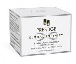 AA Prestige Global Infinity sejtstimuláló nappali arckrém száraz bőrre SPF15 50ml