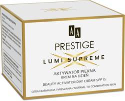 AA Prestige Lumi Supreme Beauty Activator nappali arckrém normál és kombinált bőrre SPF15 50ml