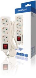 HQ Valueline 3 Plug 1,5m Switch (VLES315F002WH)