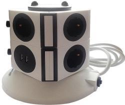 Orion 6 Plug + 4 USB (BM-SOT6P4U)