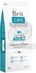 Brit Care Grain-free Adult - Salmon & Potato 3x12kg