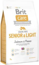 Brit Care Grain-free Senior & Light - Salmon & Potato 3kg