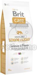 Brit Care Grain-free Senior & Light - Salmon & Potato 2x12kg