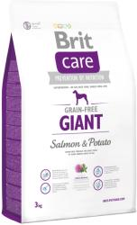 Brit Care Grain-Free Giant - Salmon & Potato 3kg