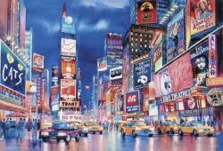 Clementoni Fluoreszkáló Puzzle - New York 1000 db-os (39249)