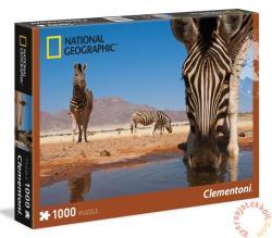 Clementoni National Geographic - Zebra 1000 db-os (39356)
