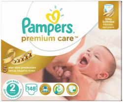 Pampers Premium Care 2 New Baby (3-6 kg) 148 buc