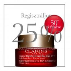 Clarins Super Restorative nappali krém SPF20