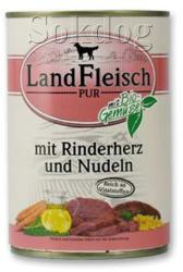 LandFleisch Beef Hearts & Pasta 400g
