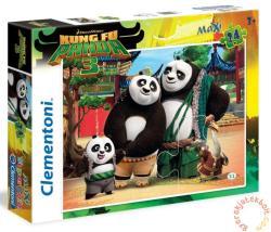 Clementoni Maxi Puzzle - Kung Fu Panda 3 24 db-os (24475)
