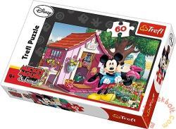 Trefl Mickey és Minnie a kertben 60 db-os (17285)