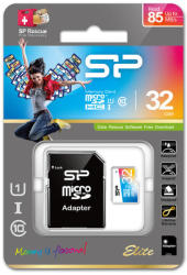 Silicon Power microSDHC Elite 1 32GB Class 10 UHS-I SP032GBSTHBU1V20SP